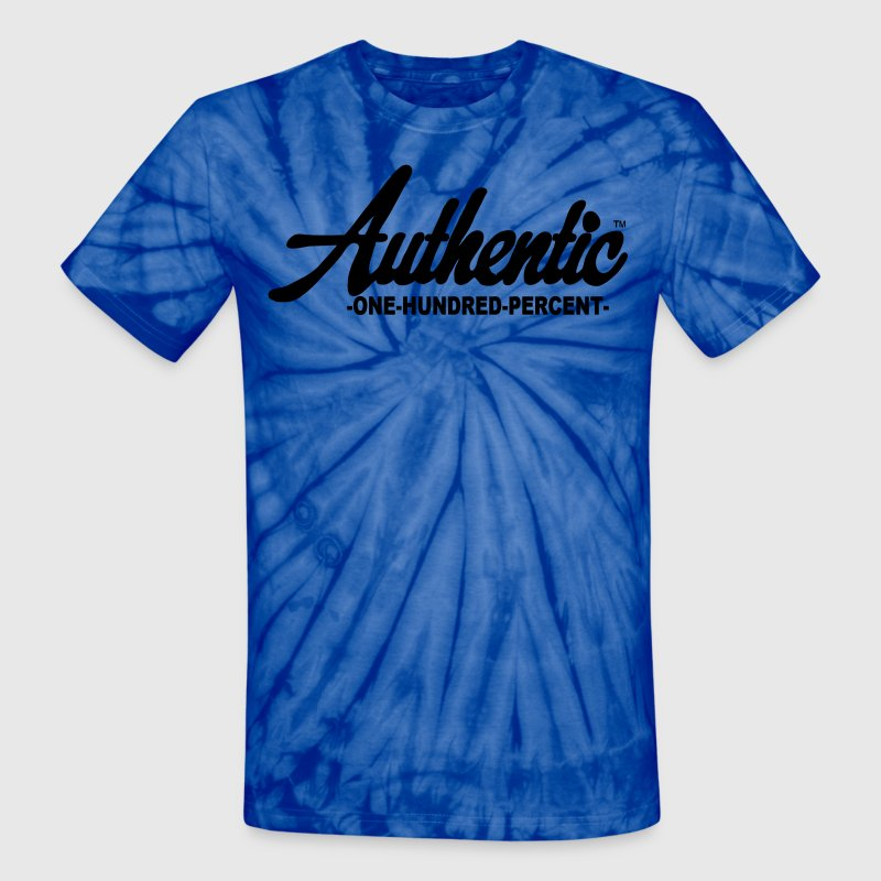Authentic One Hundred Percent - Unisex Tie Dye T-Shirt