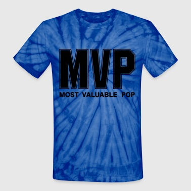 Most Valuable Pop - Unisex Tie Dye T-Shirt