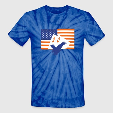 4 of July - Unisex Tie Dye T-Shirt