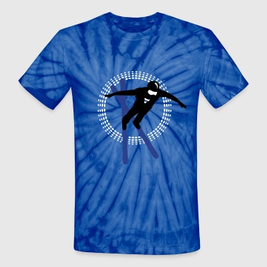 Freestyle skiing  - Unisex Tie Dye T-Shirt