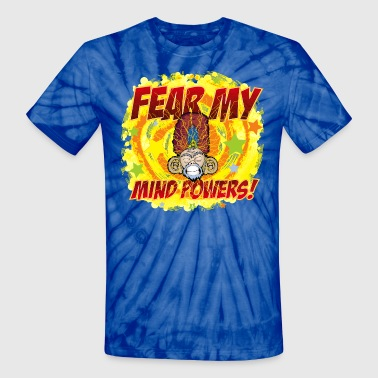 Mind Powers - Unisex Tie Dye T-Shirt