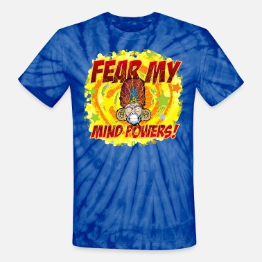 Telepathy Mind Powers - Unisex Tie Dye T-Shirt