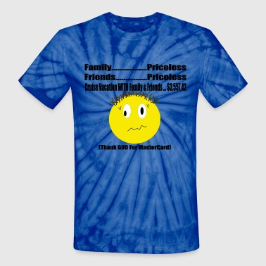 Thank GOD For Mastercard - Unisex Tie Dye T-Shirt