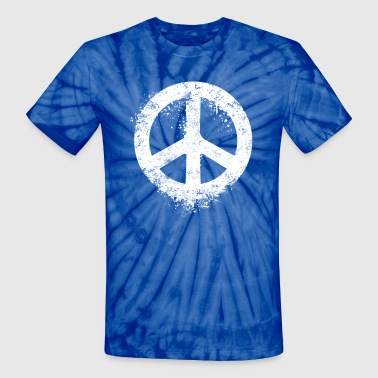 Liquid Peace - Unisex Tie Dye T-Shirt