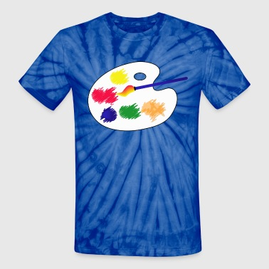 Visual Arts - Unisex Tie Dye T-Shirt