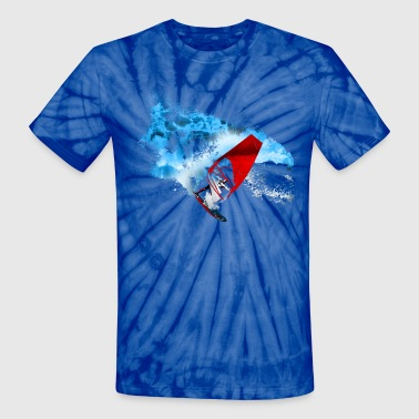 hawaii - Unisex Tie Dye T-Shirt