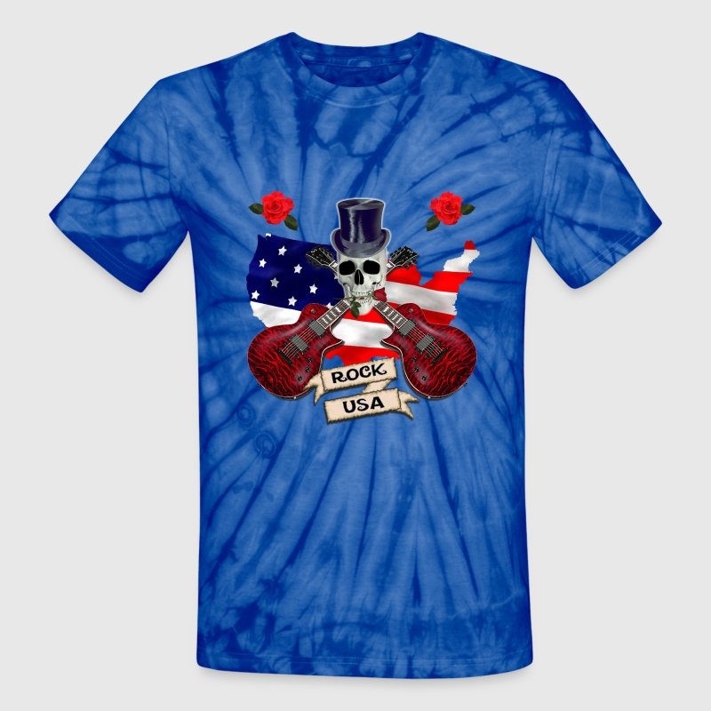 Rock USA - Unisex Tie Dye T-Shirt