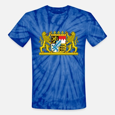 Bavaria Bavaria Coat Of Arms - Unisex Tie Dye T-Shirt