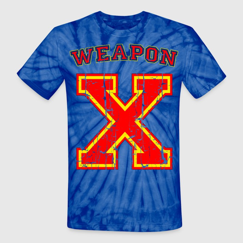 Weapon X - Unisex Tie Dye T-Shirt