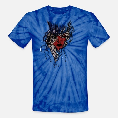 Red Face Red Face - Unisex Tie Dye T-Shirt