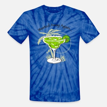Jimmy Buffett Wasted Away... - Unisex Tie Dye T-Shirt