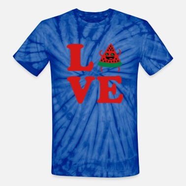 ❤Love Watermelon-Best Hot Summer Fruit❤ - Unisex Tie Dye T-Shirt