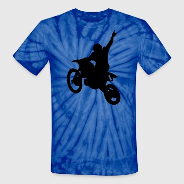 Bikes Dirt Bike - Unisex Tie Dye T-Shirt