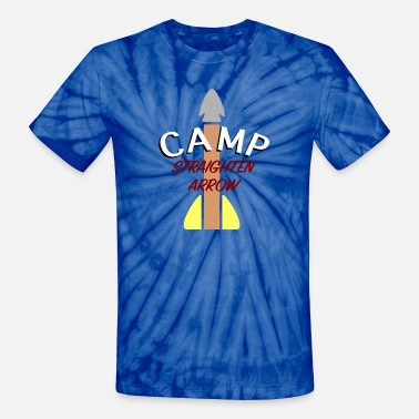 Gay Satire Camp Straighten Arrow - Unisex Tie Dye T-Shirt