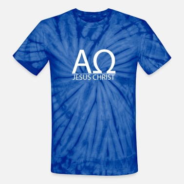 Alpha And Omega Christianity God Alpha & Omega - Unisex Tie Dye T-Shirt