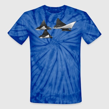 Spots Spotted Eagle Rays - Unisex Tie Dye T-Shirt