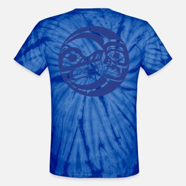 Moon Bear Bear and Moon - Unisex Tie Dye T-Shirt
