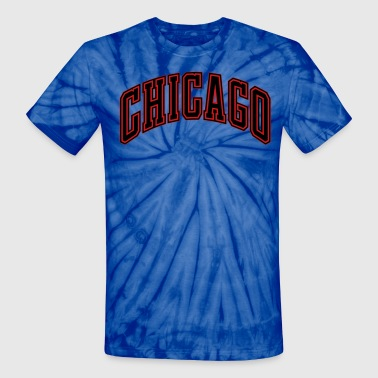 CHICAGO - Unisex Tie Dye T-Shirt