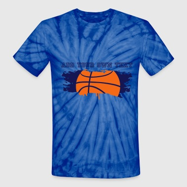 Jump Shot Basket graffiti Basketball - Unisex Tie Dye T-Shirt