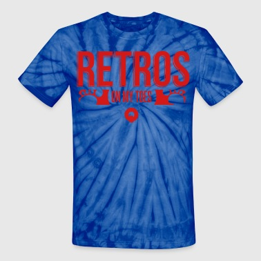 Retros On My Toes - Unisex Tie Dye T-Shirt