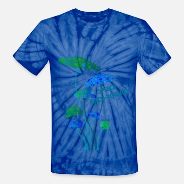 Mushroom Music mushrooms - Unisex Tie Dye T-Shirt