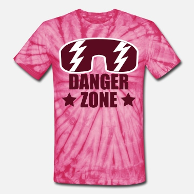 Freak-zone DANGERZONE  - Unisex Tie Dye T-Shirt