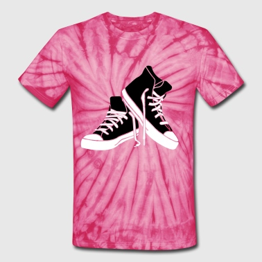 Shoe shoes - Unisex Tie Dye T-Shirt