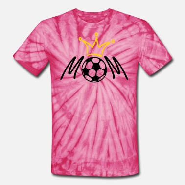 Womens Soccer Mom Soccer MOM - Unisex Tie Dye T-Shirt