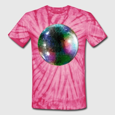 Mirror Ball - Unisex Tie Dye T-Shirt