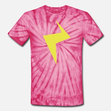 Lightning Strikes another strike lightning - Unisex Tie Dye T-Shirt