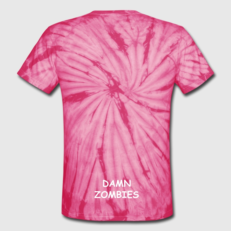 PAINT OR BLOOD SPLATTER - Unisex Tie Dye T-Shirt