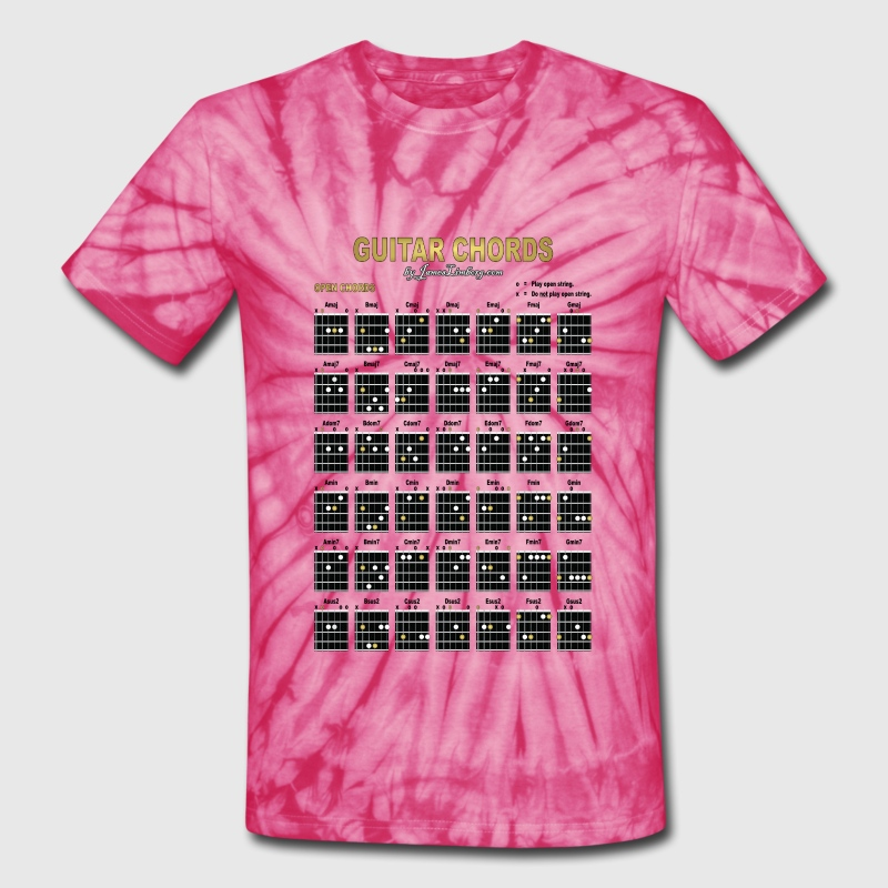 Guitar Chords T Shirts 1 of 2 by James Limborg | Spreadshirt