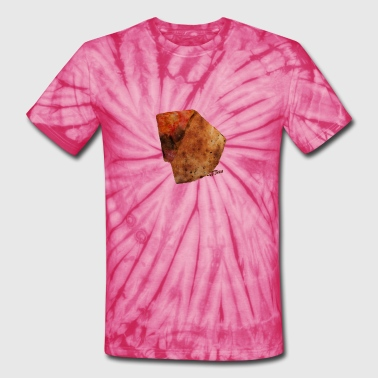 Pizza Slice with logo - Unisex Tie Dye T-Shirt