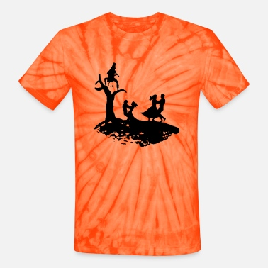 Dance with the Devil - Unisex Tie Dye T-Shirt