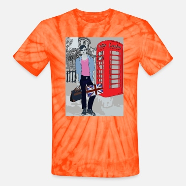 Booth London Boy - Unisex Tie Dye T-Shirt