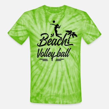 Volley Beach Volley - Unisex Tie Dye T-Shirt