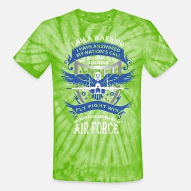 Air Force - Unisex Tie Dye T-Shirt