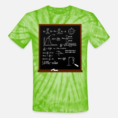 Calculator Mathematical Calculation - Unisex Tie Dye T-Shirt