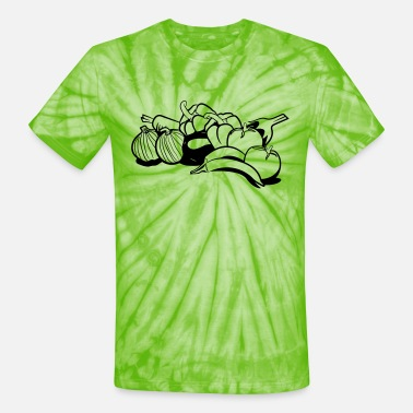 Vegetables vegetables - Unisex Tie Dye T-Shirt