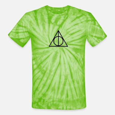 Deathly Deathly Hallows Shirt - Unisex Tie Dye T-Shirt