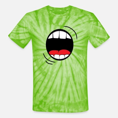 Monster Mouth - Unisex Tie Dye T-Shirt