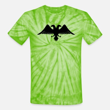 Double Head double headed eagle - Unisex Tie Dye T-Shirt