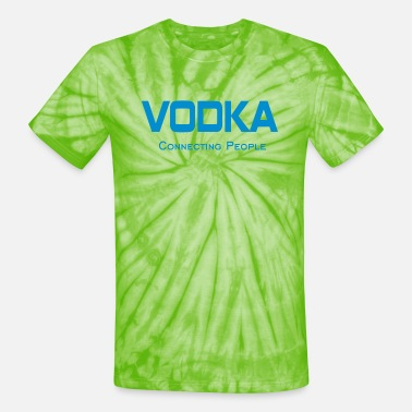 Vodka Connecting People New Funny Birthday Present Gift T-shirt