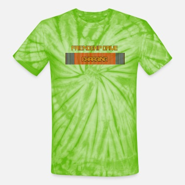 Friendship Drive Charging - Unisex Tie Dye T-Shirt