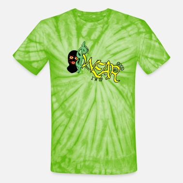 Lime SWEAR - Unisex Tie Dye T-Shirt
