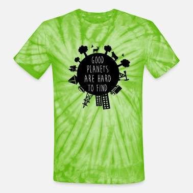 Save The Planet Planet earth - Unisex Tie Dye T-Shirt