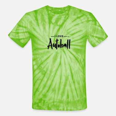 Ball Sport Autoball Ball Sports - Unisex Tie Dye T-Shirt