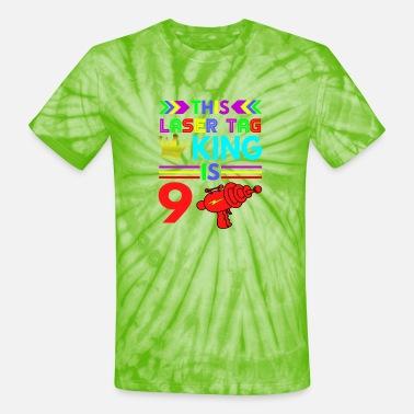 Kids 9 Year Old Soccer Birthday Party 9th King Unisex Sweatshirt tee