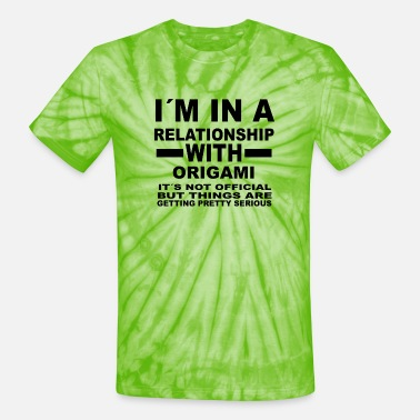 Origami relationship with ORIGAMI - Unisex Tie Dye T-Shirt