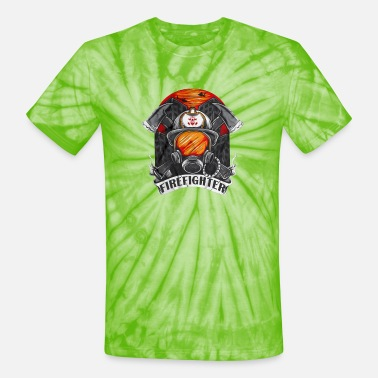 FIREFIGHTER - Unisex Tie Dye T-Shirt